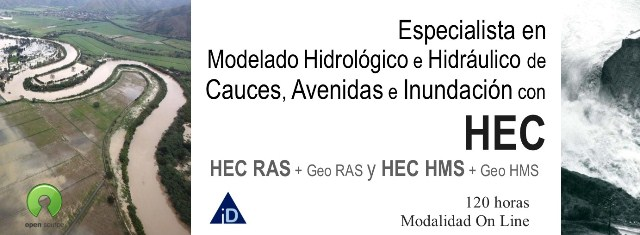 especialista modelado hidráulico