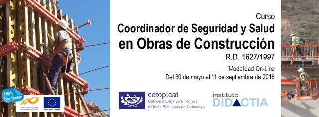 Banner Coordinador de Seguridad cetop