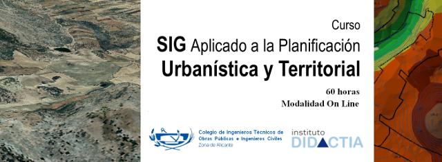 Banner SIG aplicado a la planificación Urbanística y Territorial citop