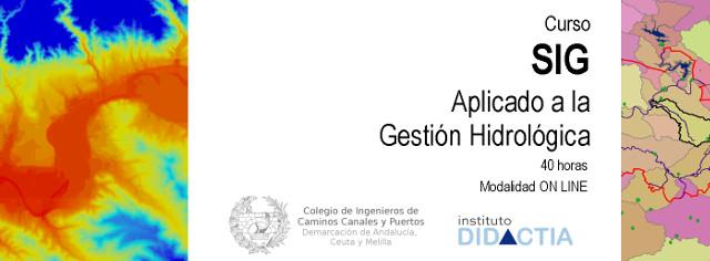 SIG Gestión Hidrológica CICCP Andalucia