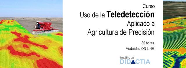 Teledetección Aplicado a Agricultura de Precisión