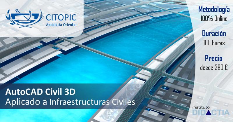 banner autocad civil 3D citopic andalucia