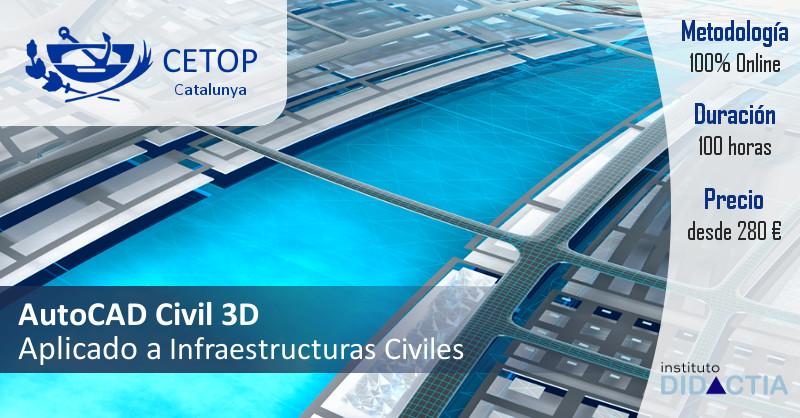 AutoCAD Civil 3D CETOP Catalunya