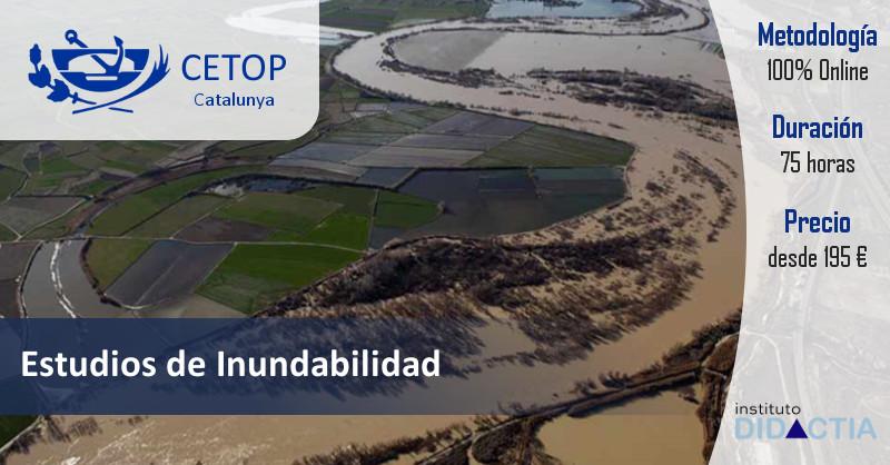 Estudios de Inundabilidad CETOP Catalunya