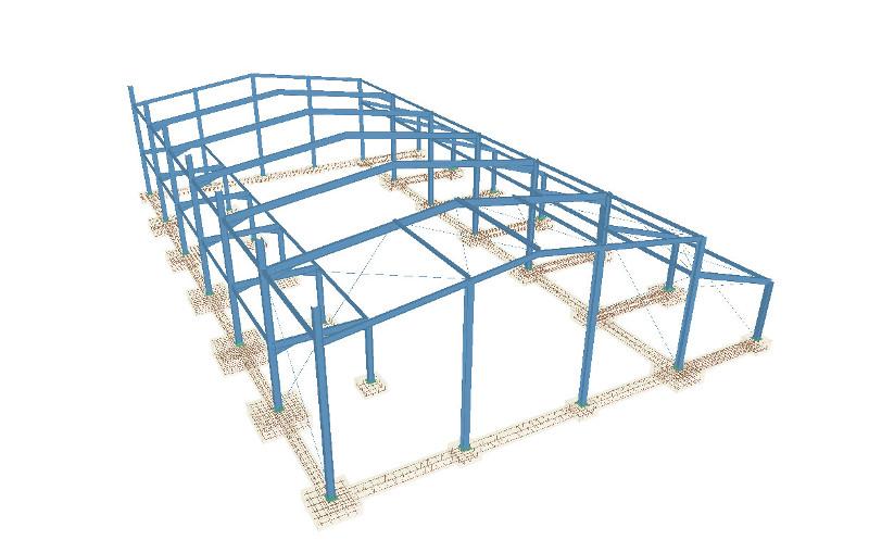 Software para el c lculo de estructuras met licas 3d lo - Estructuras metalicas murcia ...
