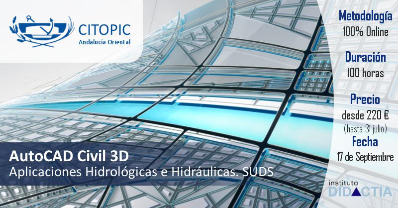Civil 3D Hidrologicas e Hidraulica citopic andalucia